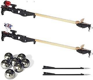 Smart Kingfisher Slingshot Fish Gun Speargun for Fishing, Hunting Spear Gun Multipurpose Shooting Support Arrow Ammo Reel Sight Scope