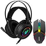 Product 1: Immersive Bass – 50mm Driver with Enhanced audio bass and clarity dramatically improves your in-game sound experience. Product 1: 3.5mm audio-mic jack and USB for LED Product 1: Super comfortable build quality with extra soft earmuffs for ...