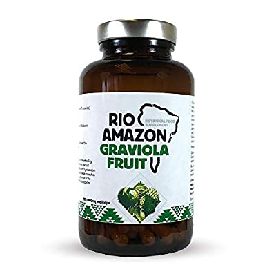 Rio Amazon 500 mg Graviola Fruit Extract - Pack of 120 Capsules by Rio Amazon
