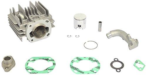 Athena 074000 Aluminium-Zylindersatz mit Kopf, Durchmesser 45 mm, 70 Cc