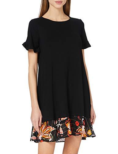 Desigual Womens Vest_Kali Casual Dress, Black, L