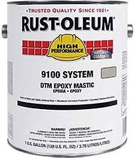 Rust-Oleum 9100 System <340 Voc Dtm Epoxy Mastic, Dunes Tan Gallon Can - Lot of 2