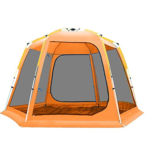 WEIE Camping Tents, Dome Tents 8-9 Person, Fully Automatic Pop-up Tents Large, Tunnel Tents for Camping Waterproof, for Garden, Outdoor Sports Hiking...