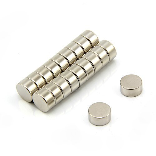 Magnet Expert Ltd - Imanes circulares para manualidades (neodimio resistente, 10 x 5mm, 2,4kg, 20 unidades)