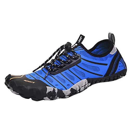 Strand Schuhe Herren Dasongff, Aquaschuhe Wasserschuhe Schwimmschuh Schnell Trocknend Badeschuhe Strandschuhe Wassersport Schuhe Strandschuhe Surfschuhe