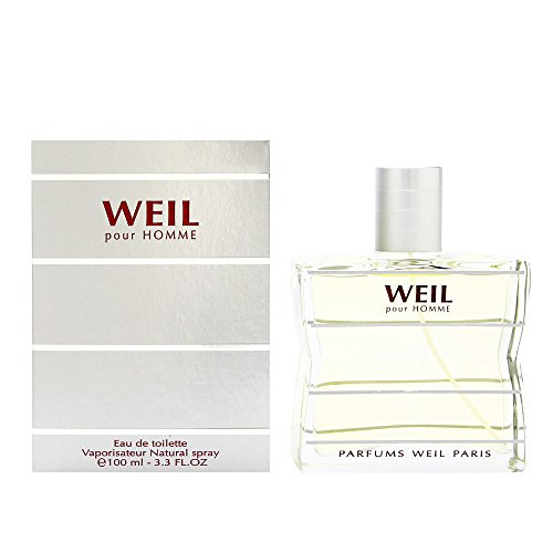 Weil Pour Homme by Parfums Weil Eau De Toilette 3.3 oz Spray by Weil