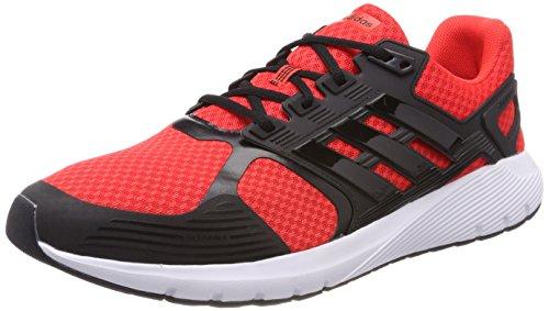 adidas Duramo 8 M, Zapatillas de Running para Hombre, Multicolor (Hi-Res Red/Core Black/Core Black 0), 46 2/3 EU