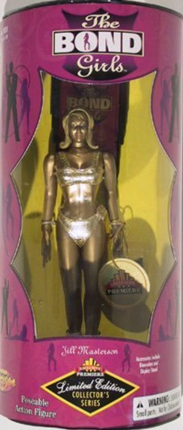 Exclusive Premiere Limited Edition Collector's Series - 7 Jill Masterson Poseable Action Figure From James Bond in Goldfinger by The Bond Girls