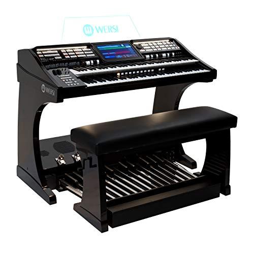 Orgel SONIC OAX800 Schwarz Metallic inkl. 25-Tastenpedal und Sitzbank