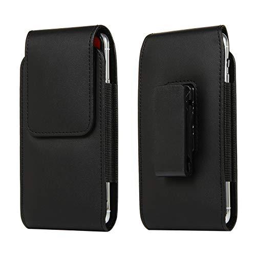 Bolso de un teléfono portátil Cinturón de cuero para hombre Clip Pouch Funda para Samsung Galaxy S20 +, A21S, S20 Fe 5G, S20 Ultra 5G, Note 20 5G, Note 20 Ultra 5G, S20 Fe, caja de la bolsa de teléfon