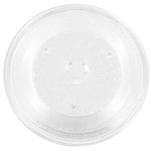 Beaquicy WB49X10097 Microwave Glass Turntable Plate Tray 11 1/4' Inches - Replacement GE Samsung Hotpoint