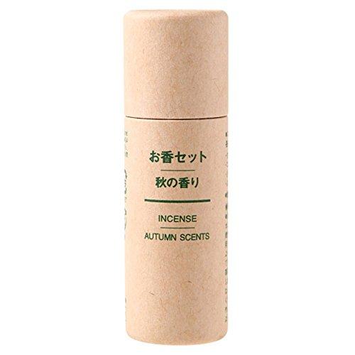 無印良品 お香セット・秋の香り 各8本×4種類 日本製