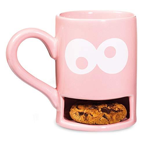 Donkey Produkts Keksbecher Mug Monster, pink