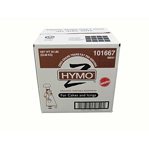 Hymo Cake and Icing Shortening Zero Tran, 50 Pound -- 1 each.