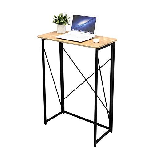 Escritorios Escritorio de computadora, escritorio de oficina en casa de escritura de 31.5', estación de trabajo de mesa plegable para oficina / estudio / dormitorio, fácil de montar, ahorro de espacio