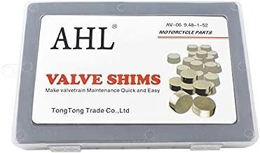 AHL 9.48mm O.D. 1.20mm-4.00mm Thick Adjustable Valve Shim Kit for Honda CRF450R CRF450 R 2002-2012 (52pcs)