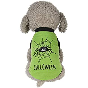 Customer reviews BURFLY ミ❤ミCool Halloween Cute Pet Vest Clothing Small Puppy Costume:Eventmanager
