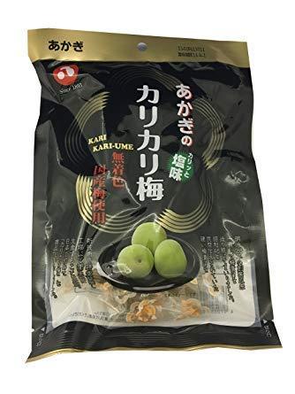 あかぎのカリカリ梅 (5袋入り) 元祖カリカリ梅赤城フーズ / 妊娠中のつわりや熱中症対策にも
