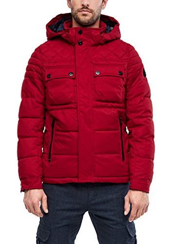 s.Oliver Herren 03.899.51.5248 Jacke, Rot (Uniform Red 3660), Medium (Herstellergröße: M)