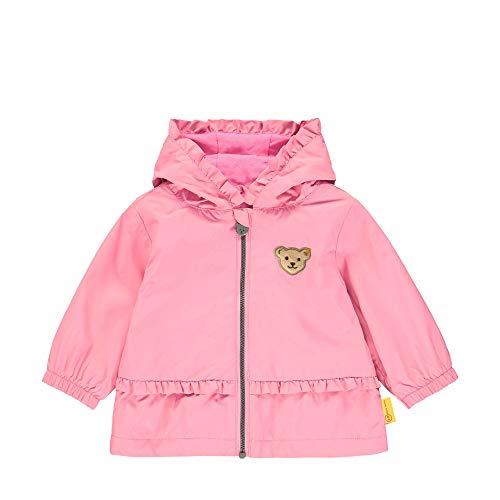 Steiff Mädchen Jacke, Rosa (Pink Carnation 3019), 80 (Herstellergröße: 080)