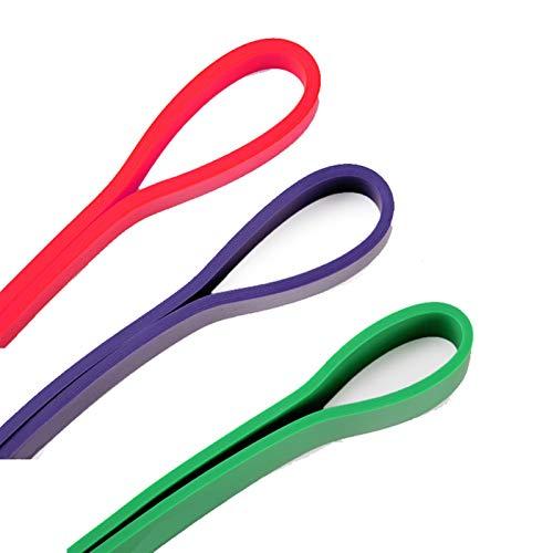 JTXQSI Fitness Resistencia a Las Bandas Set de Bucle 3 Nivel Grueso Pesado Poder atlético Bandas de Goma Entrenamiento Entrenamiento Ejercicios Equipo (Color : Multi)