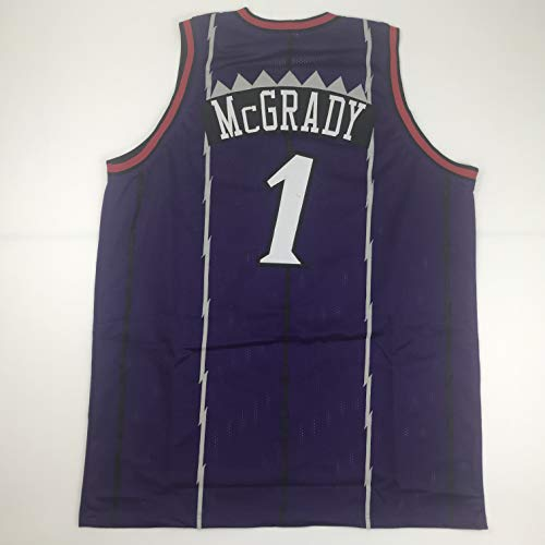Unsigned Tracy McGrady Toronto Purple Custom Stitched Basketball Jersey Size Men's XL New No Brands/Logos