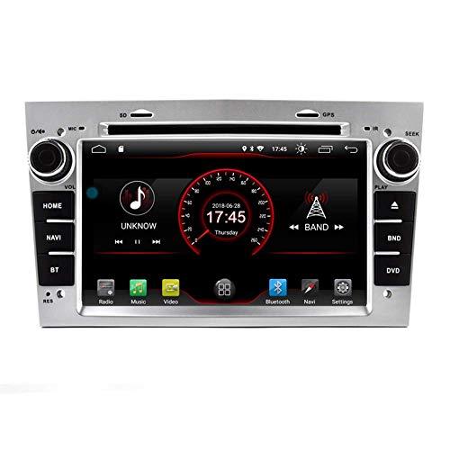 JFFFFWI Witson 7'Android 10 Autoradio per Opel Vauxhall Corsa 2006-2011 / Vectra Antara Meriva Astra Vivaro Zafira GPS per Auto Navigazione satellitare Multimedia Lettore Dvd Radio Stereo