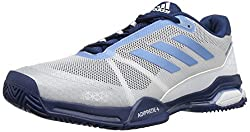 blue white pickleball shoes