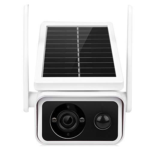FOLOSAFENAR CáMara de Seguridad 1080P HD Solar Low Power Ip66 CáMara de Seguridad WiFi Impermeable con VisióN Nocturna Y ConversacióN Bidireccional para El Hogar Al Aire Libre