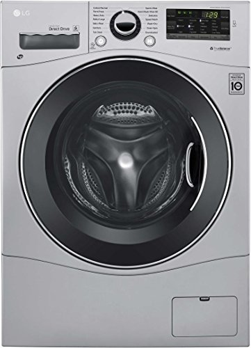 LG WM3488HS 24' Washer/Dryer Combo with 2.3 cu. ft. Capacity,...