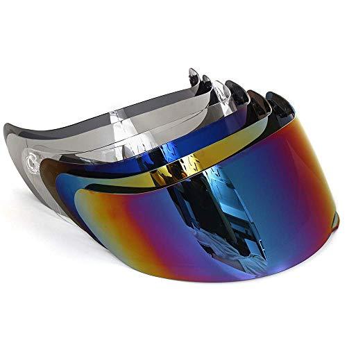 Motorrad Windschutz Helm Objektiv Visier Vollgesichts Fit für AGV K1 K3SV K5
