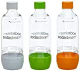 SodaStream Aktions-Set Pet-Flaschen 2+1, 3x 1L PET-Flaschen aus bruchfestem kristallklarem PET in...