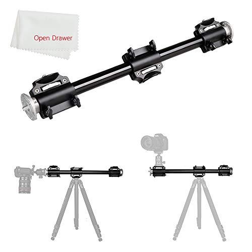 Soporte de trípode de aluminio de 3/8 tornillo de soporte de brazo sólido para fotografía brazo lateral para 4 cabezas cabeza profesional fotografía estudio...