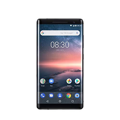 ノキア(Nokia) Nokia 8 Sirocco TA1005 128GB (ブラック)SIMフリー 並行輸入品