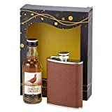 Famous Grouse Whisky & Stainless Steel Hipflask Gift Set