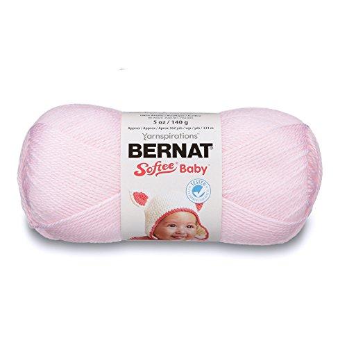 Bernat Softee Baby-Garn, Sonstige, Rose, 11.16 x 21.98 x 12.94 cm