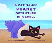 A Cat Named Peanut Gets Stuck In A Shell