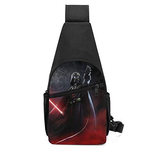 JHUIK Star War Darth Vader Schultertasche/Umhängetasche/Umhängetaschen für Männer Frauen Reisen Wandern Radfahren Casual Daypack