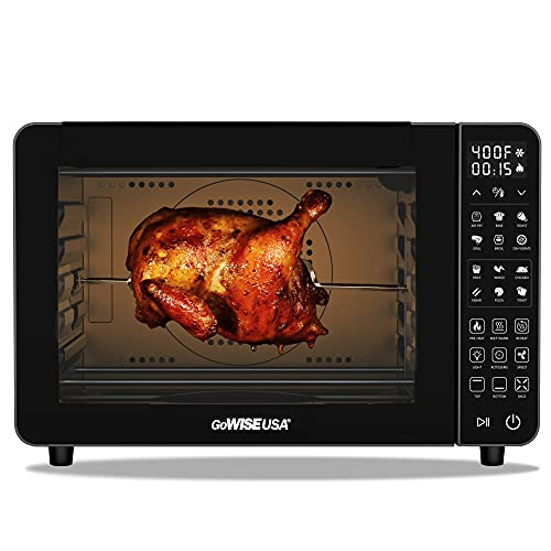 GoWISE USA 25-Quart Air Fryer Toaster Oven