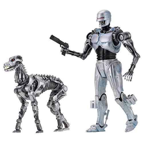 ROBOCOP Vs TERMINATOR 42078 Action-Figur, Silber