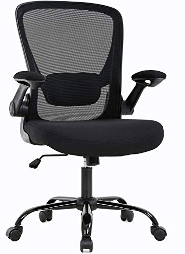 Home Office Chair, Ergonomic Desk Chair, Computer Chair, Arms Swive Modern High Back and High Mesh, Executive Chair with Adjustable Lumbar Support Arms Headrest (Medium)