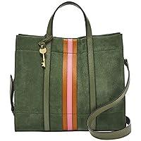 Fossil Women's Carmen Leather Shopper Handbag