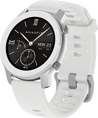 Oferta de Amazfit GTR 42mm - Smartwatch Moonlight White