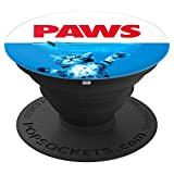 Paws Cat and Mouse pop socket Cute Funny Cat Lover grip