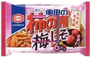 亀田製菓 182G 亀田の柿の種梅しそ6袋詰×24個