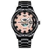 xiaoxioaguo Reloj de los hombres de la marca superior de lujo reloj de cuarzo reloj de los hombres de los deportes militar reloj de los hombres impermeable reloj de los hombres Relogio Masculino B