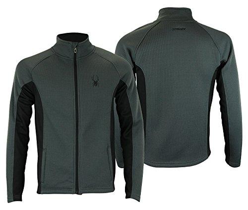 Spyder Mens Full Zip Heavyweight Sweater