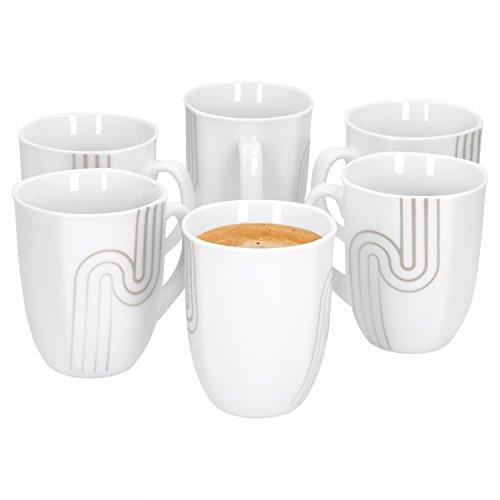 Lot de 6 Mugs Costa 33 cl