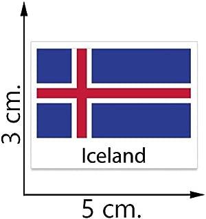 Iceland Flag Temporary Tattoos Sticker Body Tattoo
