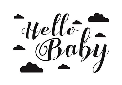 Aladine 01674 Stempel D Hello Baby